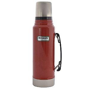 Garrafa Térmica Classic 1L Vermelha - STANLEY