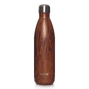 Garrafa Térmica Grey Wood 750ml  - KOUDA