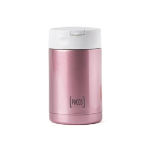 Pote Térmico Food Jar c/ Colher 500ml Rose - PACCO