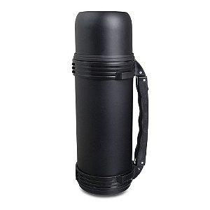 Garrafa Térmica Inquebrável Inox Black - MOKHA