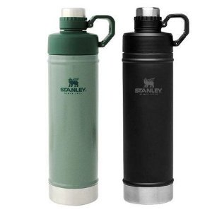 Kit Hydration 750ml Verde e Preta - STANLEY