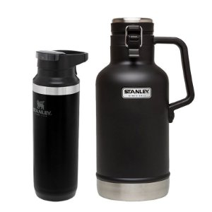 Kit Switchback Black 473ml e Growler Térmico Preto 1,9L - STANLEY