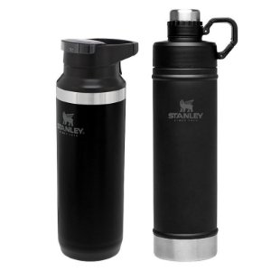 Kit Switchback 473ml Black e Garrafa Hydration 750ml Black- STANLEY