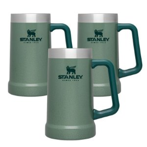 Kit 3 Canecas Térmicas Green 709ml - STANLEY
