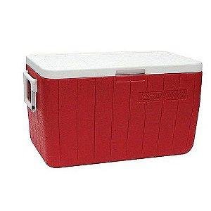 Caixa Térmica 48QT - 45,4 litros Vermelha - COLEMAN