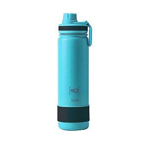 Garrafa Térmica Hydra Bottle 650ml Turquesa - PACCO BY