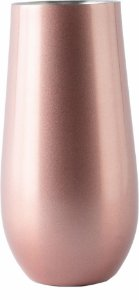 Copo Térmico para Espumante Champ Rose Gold 150ml - MOKHA