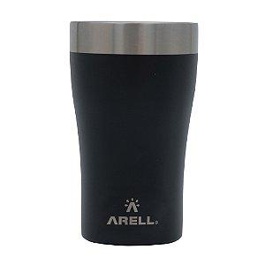Copo Térmico de Cerveja 500ml Preto Black Sand - Arell