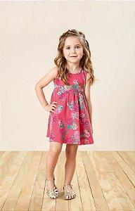 Vestido Infantil Coton Ligth - Carinhoso