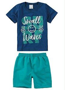 Conjunto Azul Menino - Malwee Kids