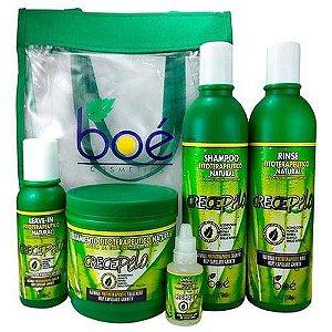 Kit Cosméticos Crece Pelo Boé Pack Com 5 Produtos Boé