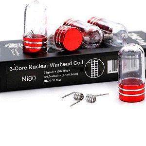 PREBUILT NI80 3-CORE NUCLEAR WARHEAD COIL  - THUNDERHEAD CREATIONS