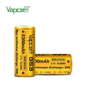 BATERIA G53 26650 INR 3.7V 5300MAH 20A - VAPCELL