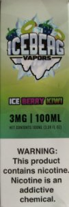 LÍQUIDO ICE BERRY KIWI - ICEBERG VAPORS