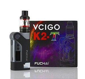 KIT  FUCHAI VCIGO K2-T TC STARTER W/ T3 TANK (230W) - SIGELEI