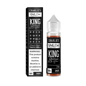 Líquido CHARLIES - KING BELLMAN 60ML Tacacco & Vanilla