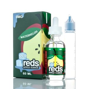 LÍQUIDO WATERMELON ICED APPLE REDS E-JUICE - 7 DAZE