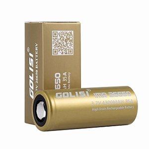 Bateria IMR 3.7V 26650 35A 4300MAH  - Golisi Unitário
