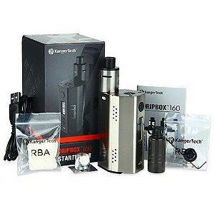 Kit DRIPBOX Starter 160W - KangerTech C/ Duas Baterias 18650