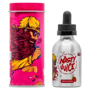 Líquido Trap Queen Low Mint - Nasty juice - Yummy Fruity