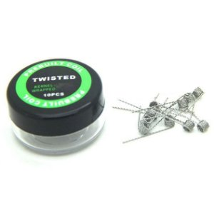 TWISTED 0.2 PACK COM 10 - COIL'S PREBUILT COIL