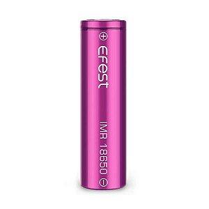 Bateria 18650 Li-Ion Efest Purple 18650 3.7V 2500mAh High Drain 35A - UNITÁRIO