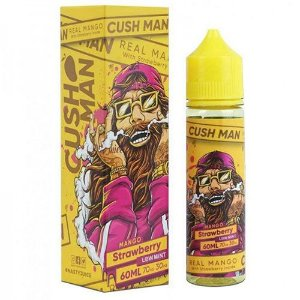 Líquido Cush Man Mango Strawberry (Low Mint) - Nasty Juice