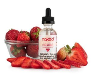 LÍQUIDO NAKED 100 - YUMMY STRAWBERRY
