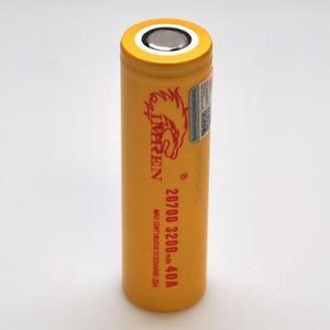 Bateria 20700 3200mAh  40A - IMREN -  Unitário