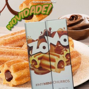 LÍQUIDO  ZOMO - MY MINI CHURROS  E-JUICE