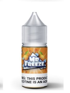 Líquido Salt Nicotine - Peach Frost - MR. Freeze