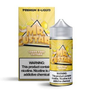 Líquido Lemon Cake Custard - MR Custard Premium E-liquid