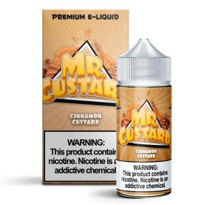 Líquido Cinnamon Custard  - MR Custard Premium E-liquid
