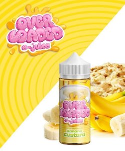 Líquido Banana Custard - Over Loaded E-Juice