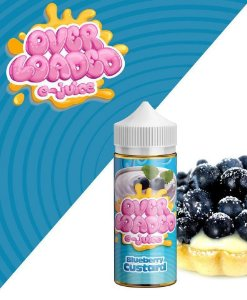 Líquido Blueberry Custard  - Over Loaded E-Juice