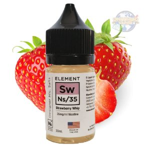 LÍQUIDO ELEMENT SALT NICOTINE - Strawberry Whip