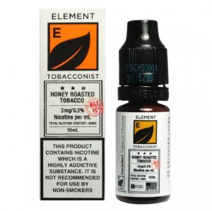 LÍQUIDO ELEMENT SALT NICOTINE - HONEY ROASTED TOBACCO