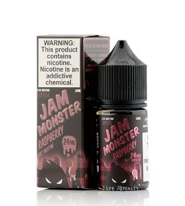 Líquido Nic Salt Raspberry - Jam Monster