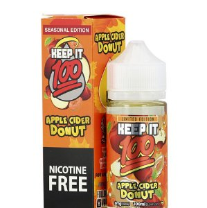 Líquido Apple Cider Donut Nicotine Free - Keep It 100