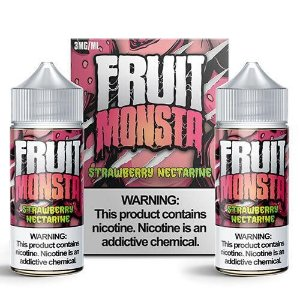 Líquido Strawberry Nectarine - Fruit Monsta