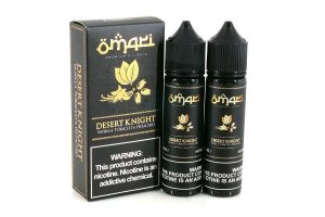Líquido Vanilla Tobacco & Pistachio - Desert K Night -  Omari