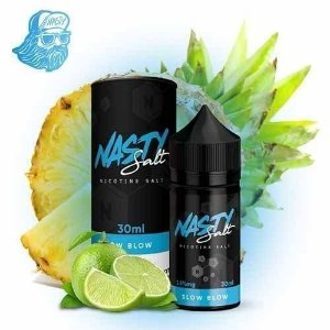 Líquido salt Nicotine Slow Blow - Nasty Juice