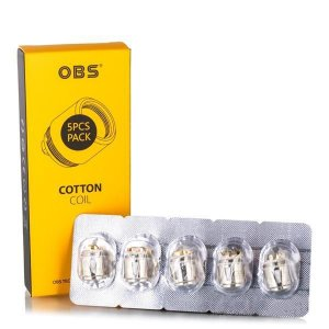 Bobina ( Reposição ) Kit Cube 80W  Cotton Coil - OBS