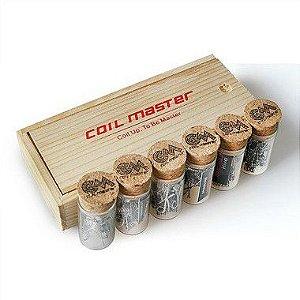 Resistências Prontas  Kanthal c/10 Unidades Coil Master