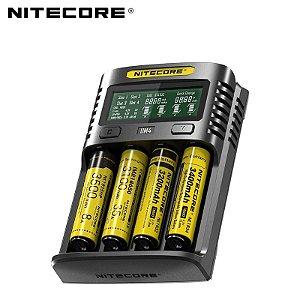 Carregador UMS4 LCD Nitecore®