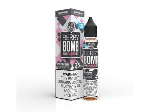 Líquido Berry Bomb Sour Strawberry Belt  ICED- SaltNic / Salt Nicotine - VGOD SaltNic