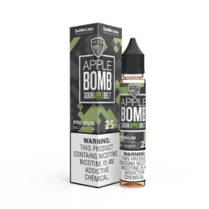 Líquido Sour Apple Bomb Belt - SaltNic / Salt Nicotine - VGOD SaltNic