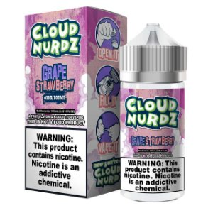 Líquido Grape Strawberry  Cloud Nurdz