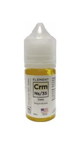 LÍQUIDO ELEMENT SALT NICOTINE CREMA