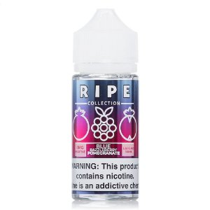 Liquido Ripe Collection Blue Razzleberry Pomegranate Vape 100